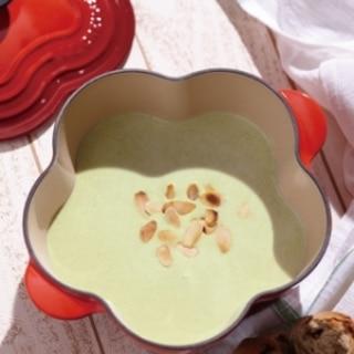 [ル・クルーゼ公式] そら豆の冷製スープ