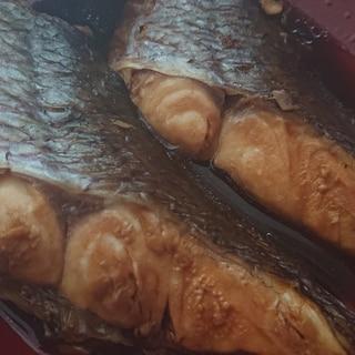 うなぎのタレで真鯛の煮付け