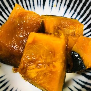 簡単にかぼちゃの煮物