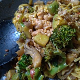 大豆ミートのうまみ野菜の炒め物