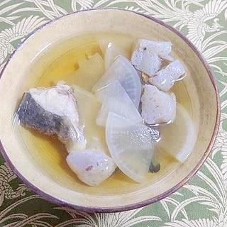 ホッケのアラ汁(ホッケ全部食べ2)