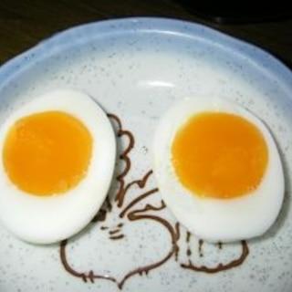 殻剥き失敗無し!簡単!とろとろ濃厚半熟ゆで卵!