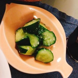 基本☆野菜の塩麹漬け~きゅうり漬け~