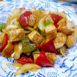 ❤ 豚ロース&ピーマン&玉ねぎの甘酢炒め ❤