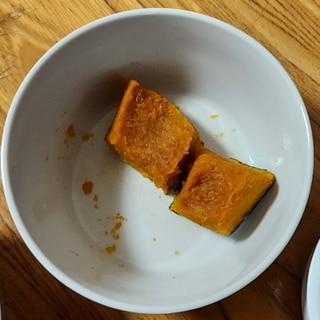 ハロウィンにぴったり かぼちゃシナモン焼き