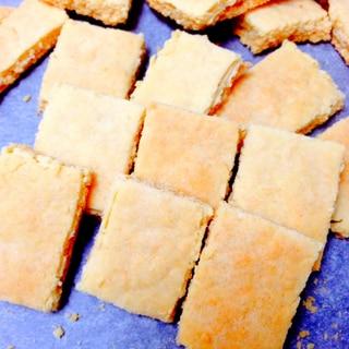 オーブンで10分♪HMでバタークッキー
