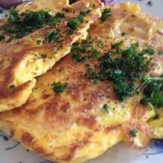 油揚げの卵マヨ焼き