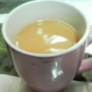 オレンジミルク紅茶