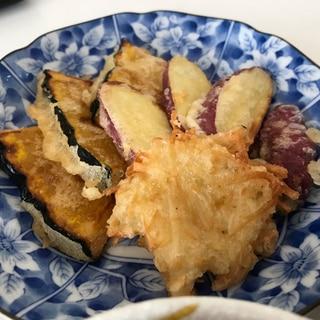 片栗粉・マヨネーズで簡単天ぷら