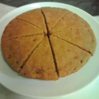 炊飯器で簡単に作れます。黒糖蒸しケーキ