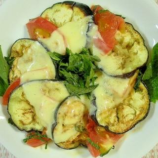 ☆なすとトマトの大葉チーズ焼き☆