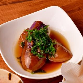 【磯のりご飯の素使用】さっぱり!簡単なすの煮浸し!