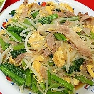 香味ペーストで簡単美味しい!豚肉たまご野菜炒め