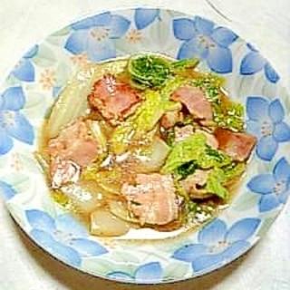 ☆白菜とベーコンの煮浸し☆