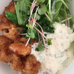 鶏タルタル丼