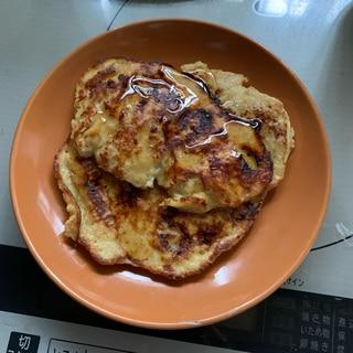 オートミールバナナパンケーキ