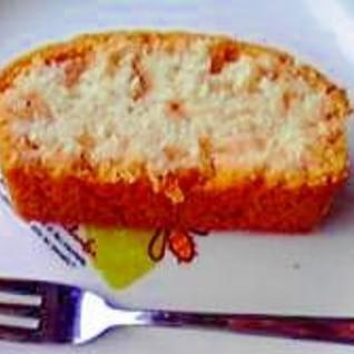 卵なし☆いちごジャムのパウンドケーキ♪