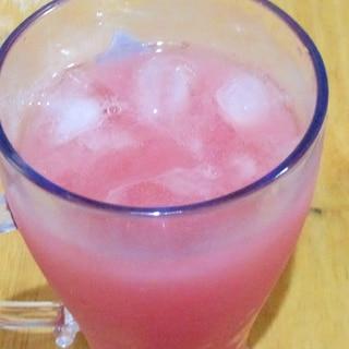 """西瓜果汁とカルピスで""""スイカルピス"""""""