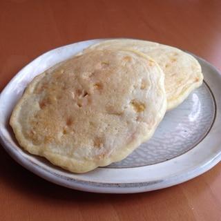 米粉とうもろこしパンケーキ♪