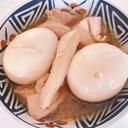 鳥ももとゆで卵の照り煮