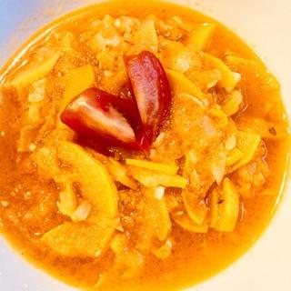 ズッキーニのトマトスープ