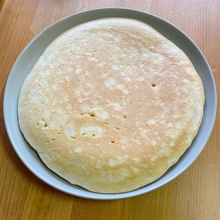 米粉でバナナパンケーキ