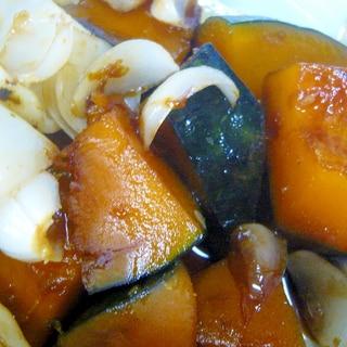 ❤ かぼちゃ&ゆり根の煮物 ❤