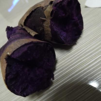 紅芋で作ってみました^^