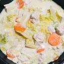 意外と簡単!母直伝の白菜たっぷり豆乳鍋