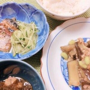 きゅうりでお弁当(^^)ナムル風和え物♪