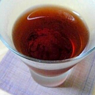 栗の渋皮煮の紅茶ゼリー