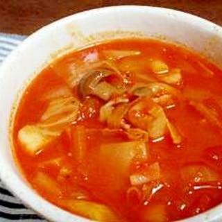 基本の◎トマトスープ