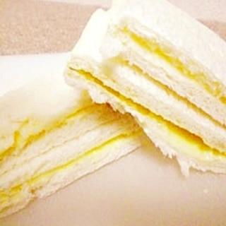食パンで簡単★角切りりんごのクリームパン