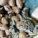茎わかめと大豆の和え物