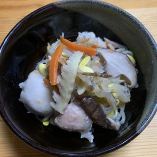 大海♡鶏もも肉と里芋・ごぼうなどの煮物