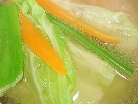基本!中華用スープの取り方