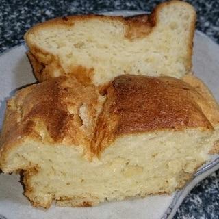 ふわふわスフレ風甘酒のケーキ