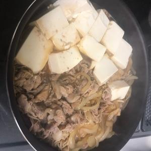 味しみしみ!旦那が絶賛肉豆腐♡