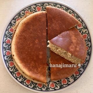 薄力粉不使用☆オートミールのバナナケーキ