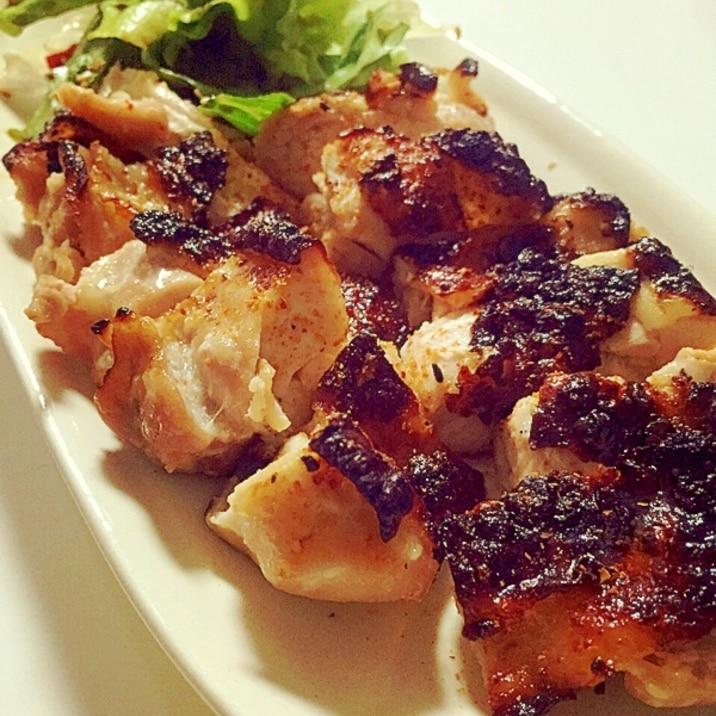 揉んで焼くだけ☆ 塩麹のやわらか鶏もも肉焼き