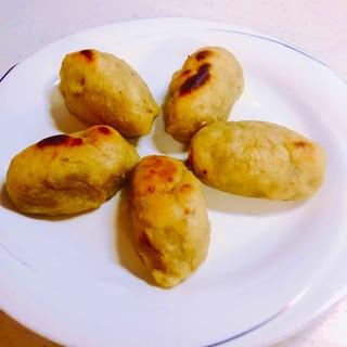 残った焼き芋でスイートポテト