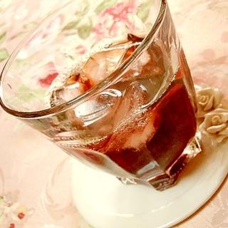 ❤ざくろ酢とレモンと赤ワインのカクテル❤