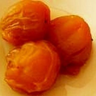 炊飯器で梅の甘露煮