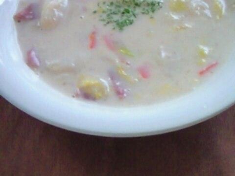 ベーコンと白菜のクリーム煮
