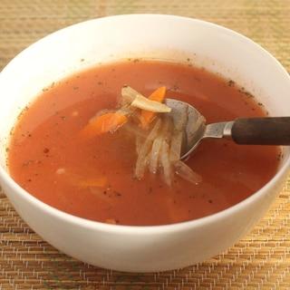 保存性に優れ、常備食にも!「ケチャップスープ」
