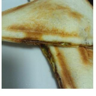 ホットサンド★カレーパン