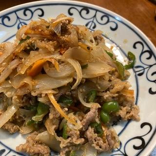 つけ置きで簡単!韓国料理のプルコギ