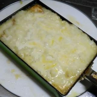 オーブン不要!牛乳で作れる!!フライパンでドリア!