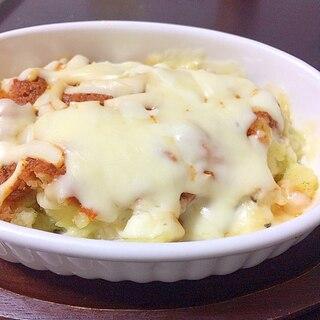 ナスポテト、トマトチーズ