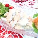 おろしポン酢de!水晶鶏